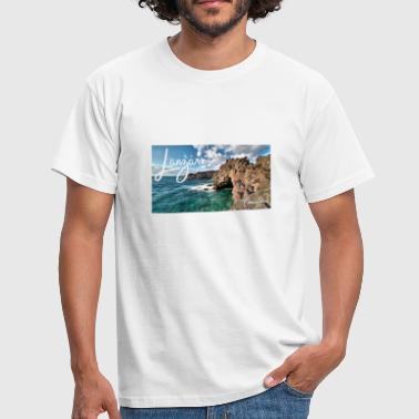 Canary Island Los Hervideros Lanzarote Canary Islands Canary Islands - Men's T-Shirt