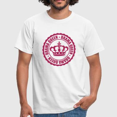 Sexy Evil stamp drama queen circle around cool woman princess - Men's T-Shirt