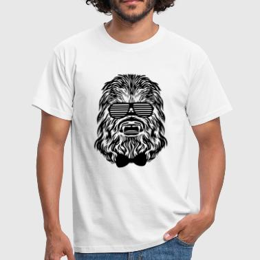 Chewbacca hipster - Men's T-Shirt