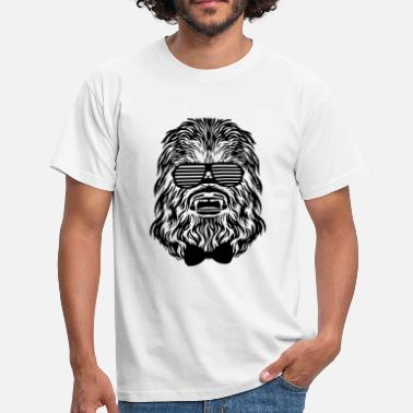 Lightsaber Chewbacca hipster - Men's T-Shirt
