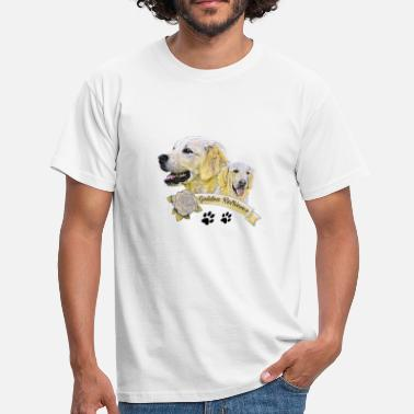 Retriever Golden Retrievers - T-shirt Homme