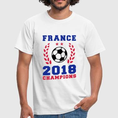 France Football Champions 2018 - T-shirt Homme