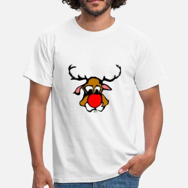 Red Nose Red Nosed - Men's T-Shirt