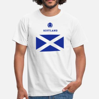 Glasgow Flag Scotland - Men's T-Shirt