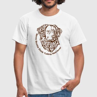 445 Nova Scotia Duck Tolling Retriever - Männer T-Shirt