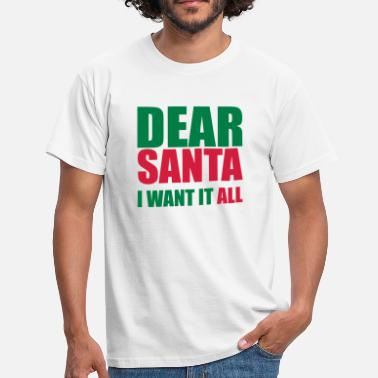 Merry Crimbo Dear Santa - Men's T-Shirt
