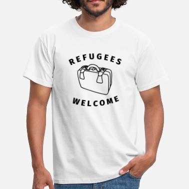 Refugees Welcome refugees welcome - T-shirt Homme