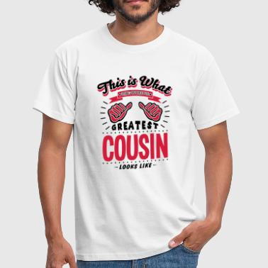 Worlds Greatest Uncle Looks Like cousin worlds greatest looks like - Men's T-Shirt