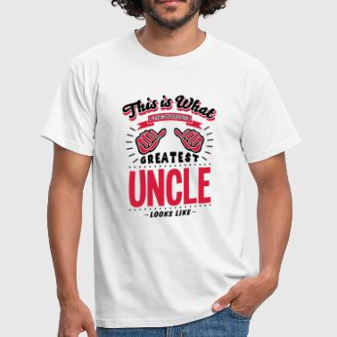 Worlds Greatest Uncle Looks Like uncle worlds greatest looks like - Men's T-Shirt