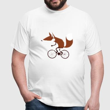 Cycling Fox - Männer T-Shirt