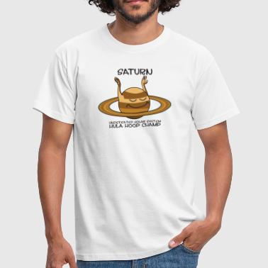 Saturn rings planet - Men's T-Shirt