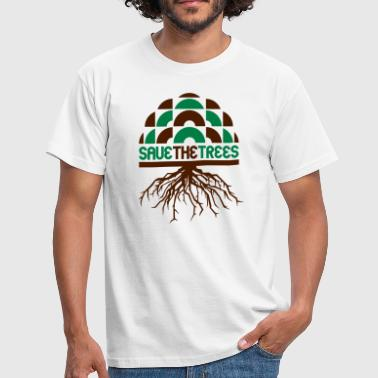 Chirp save the trees - Männer T-Shirt