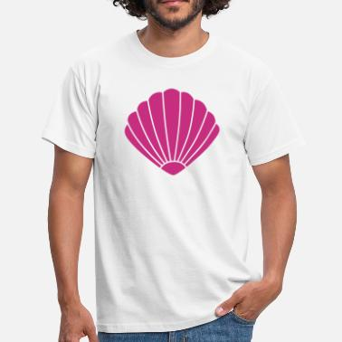 Clam Clam Silhouette - Men's T-Shirt