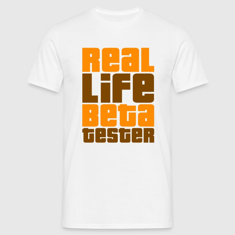 Real Life Beta Tester (Original) - Männer T-Shirt