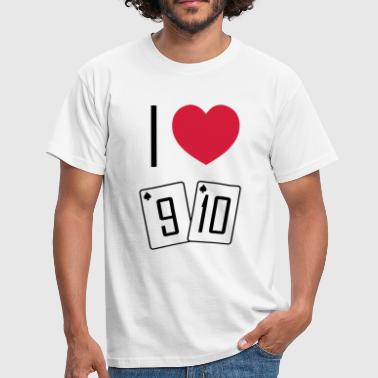 I love 9T - T-shirt Homme