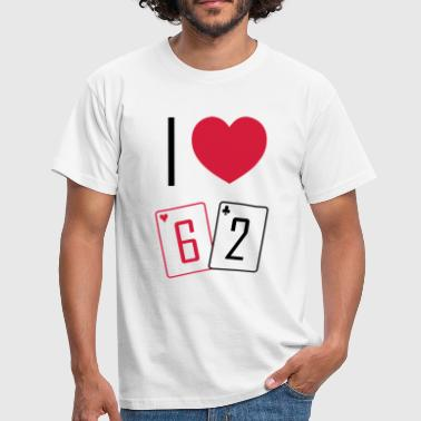I love 62 - T-shirt Homme