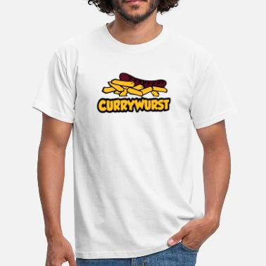 Currywurst currywurst - Men's T-Shirt