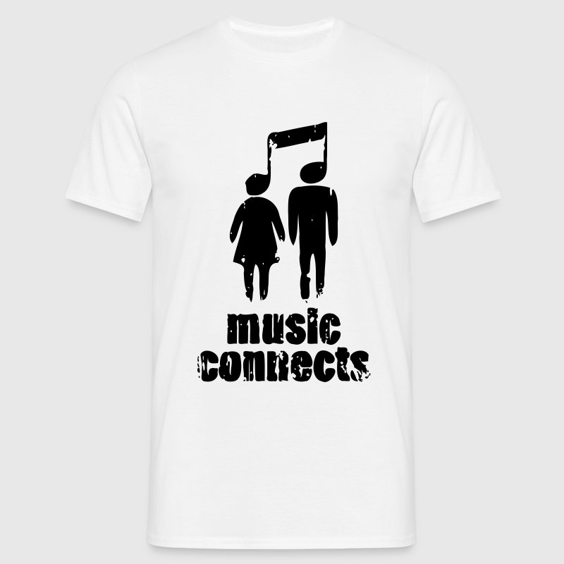 Music Connects - Men's T-Shirt