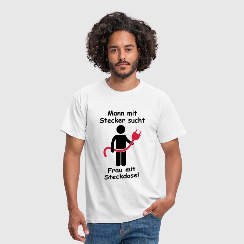 Elektriker-Single-Shirt: Stecker sucht Steckdose 2 von mohrakel ...