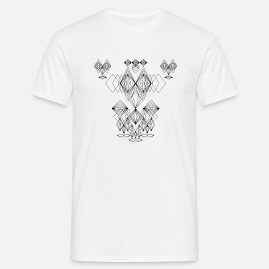 7ba09226bb19 Abstract Faces Drawing Crazy Faces Art Men s Premium T-Shirt ...