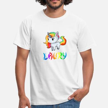 Lauri Unicorn Laury - Men's T-Shirt