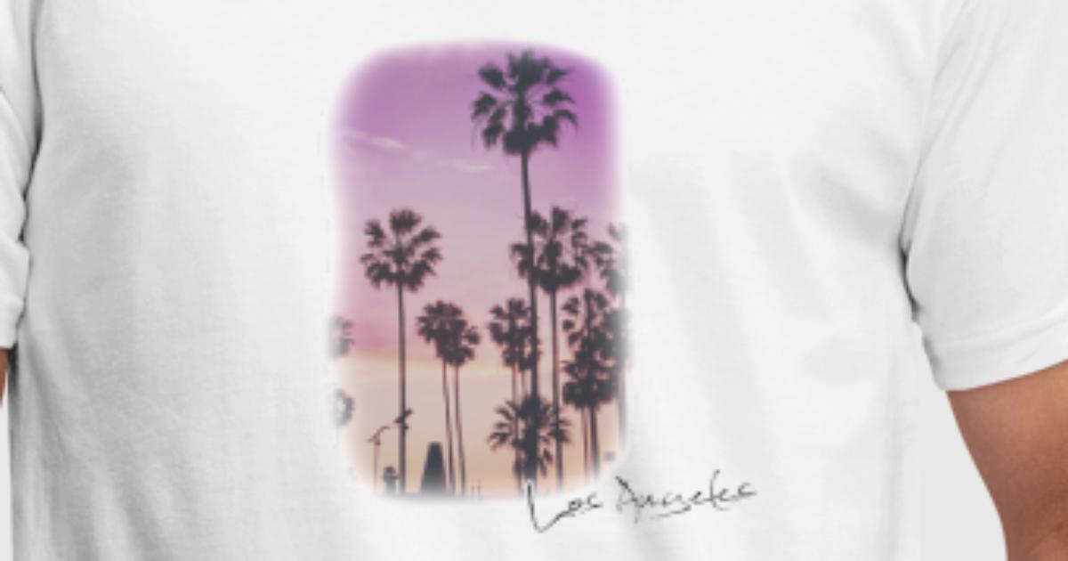 Los Angeles Palmen von nickdeeken   Spreadshirt