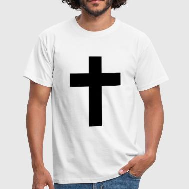 Jesus Cross Cross - Jesus  - Men's T-Shirt