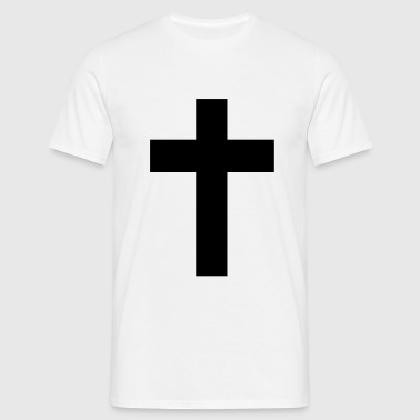 Cross - Jesus  - Men's T-Shirt