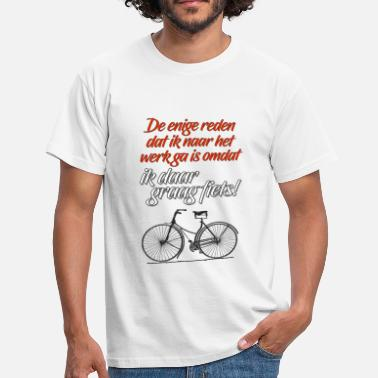 Dutch Girl Fun.E 05 Dutch Bike - Men's T-Shirt