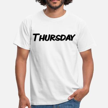 Thursday - Men's T-Shirt