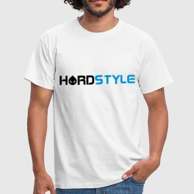 Hardstyle Head Text EDM Quote - Herre-T-shirt
