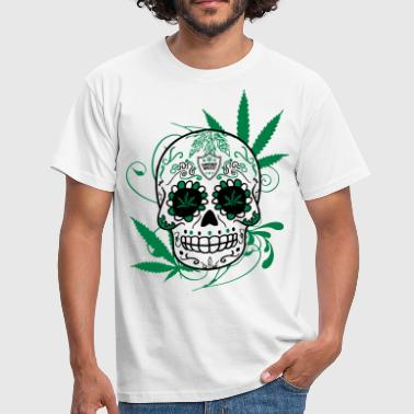 Mexicain Big Skull Cana - T-shirt Homme