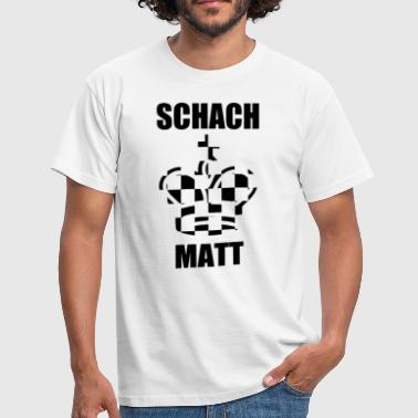 Matt CHESS MATT - Men's T-Shirt
