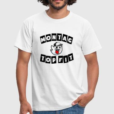 Switcher Montag - Top Fit Boo Switch RoXas Logo Gaming - Männer T-Shirt