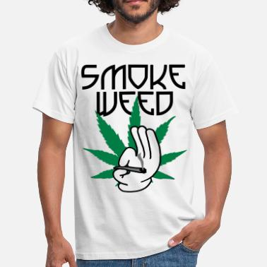 Weed smoke_weed - T-shirt Homme