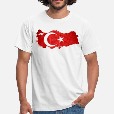 Turkish Flag Turkey flag - Men's T-Shirt