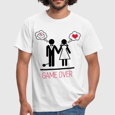 Mariage Game Over game over 3 - 2 - T-shirt Homme