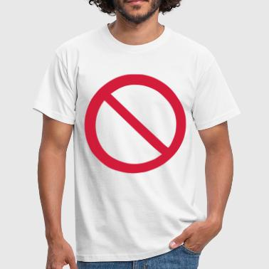 Ban - Prohibition - Men's T-Shirt