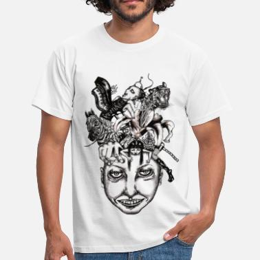 Journey to the centre of my mind 2 - Men's T-Shirt