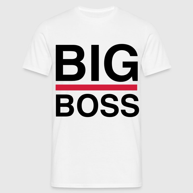 BIg Boss - Männer T-Shirt