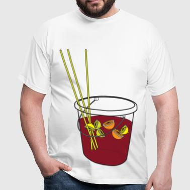Sangria - Men's T-Shirt