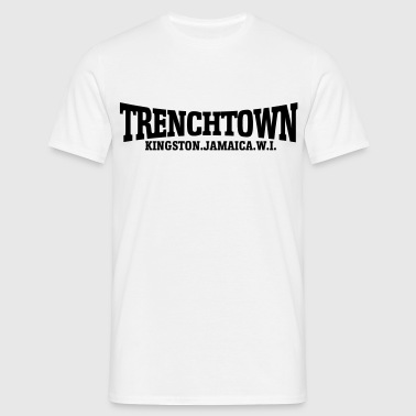trenchtown noir - T-shirt Homme