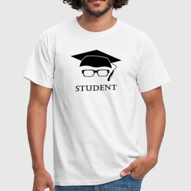 Student freshman university graduation glasses - Men's T-Shirt