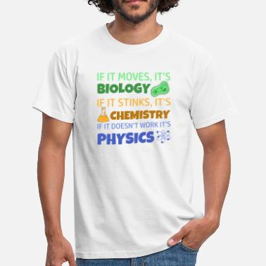Physique Chimie BIOLOGIE CHIMIE PHYSIQUE - T-shirt Homme