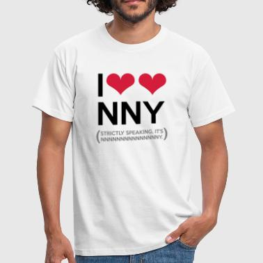 I love New New York - Männer T-Shirt