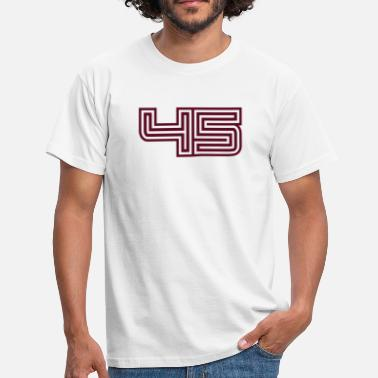 45 45_style_design - Men's T-Shirt