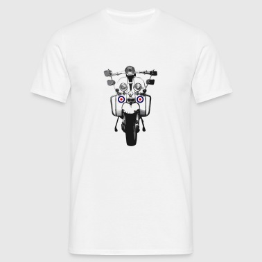 Mod Scooter - Men's T-Shirt