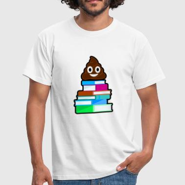 Shit Reading Shit books shit - Men's T-Shirt