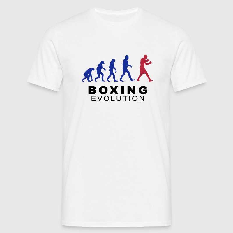 Boxing evolution - Men's T-Shirt