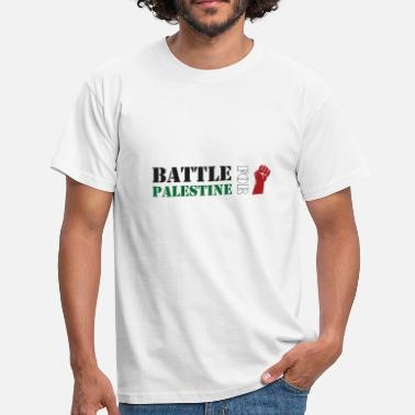 Palestino Battle for Palestine - Men's T-Shirt